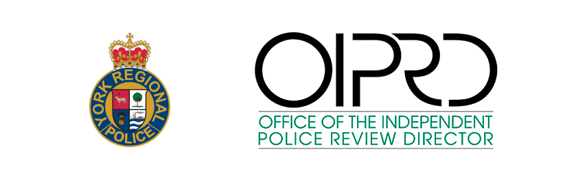 York Police logo and OIPRD logo