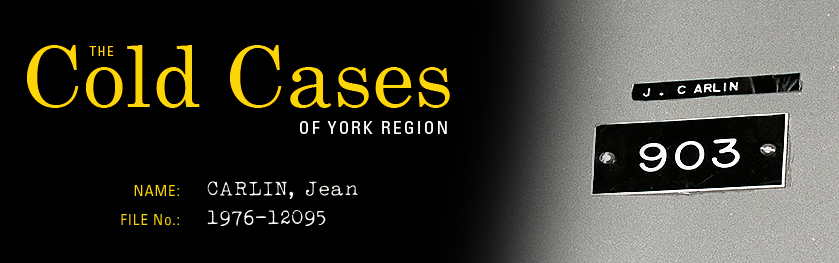 The Cold Cases of York Region: Jean Carlin