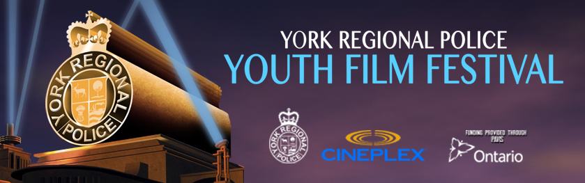 The YRP crest in lights