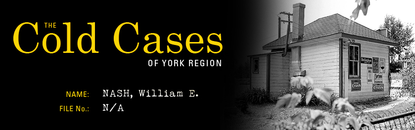 Reads: The Cold Cases of York Region, William Nash