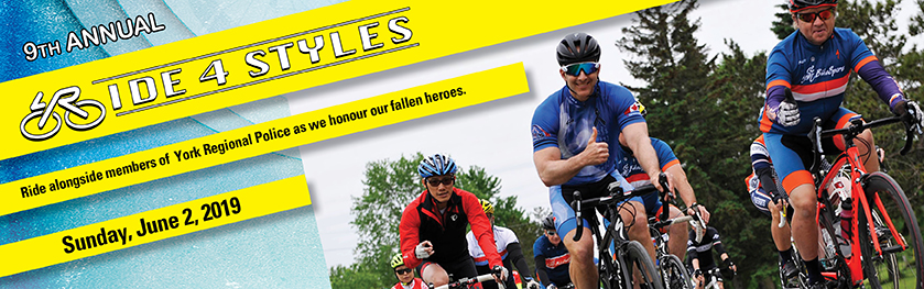 A banner image of cyclists