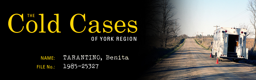 The Cold Cases of York Region: Benita Tarantino