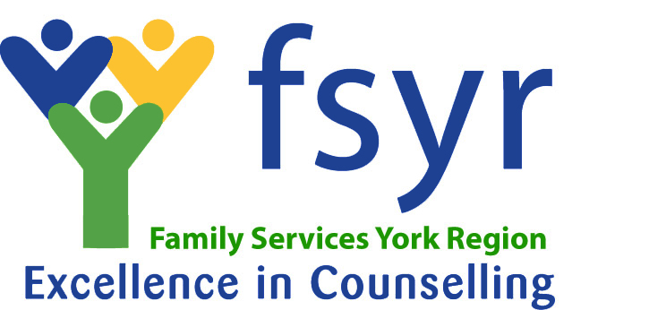 A logo for Family Services York Region